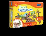 BRASIL E SEUS ESTADOS QUEBRA-CABEÇA 82 PEÇAS