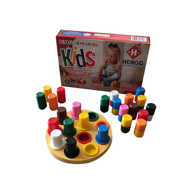 DESAFIO DAS CORES KIDS