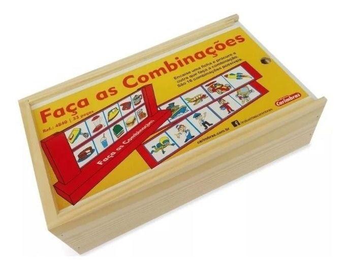 FAÇA AS COMBINAÇÕES