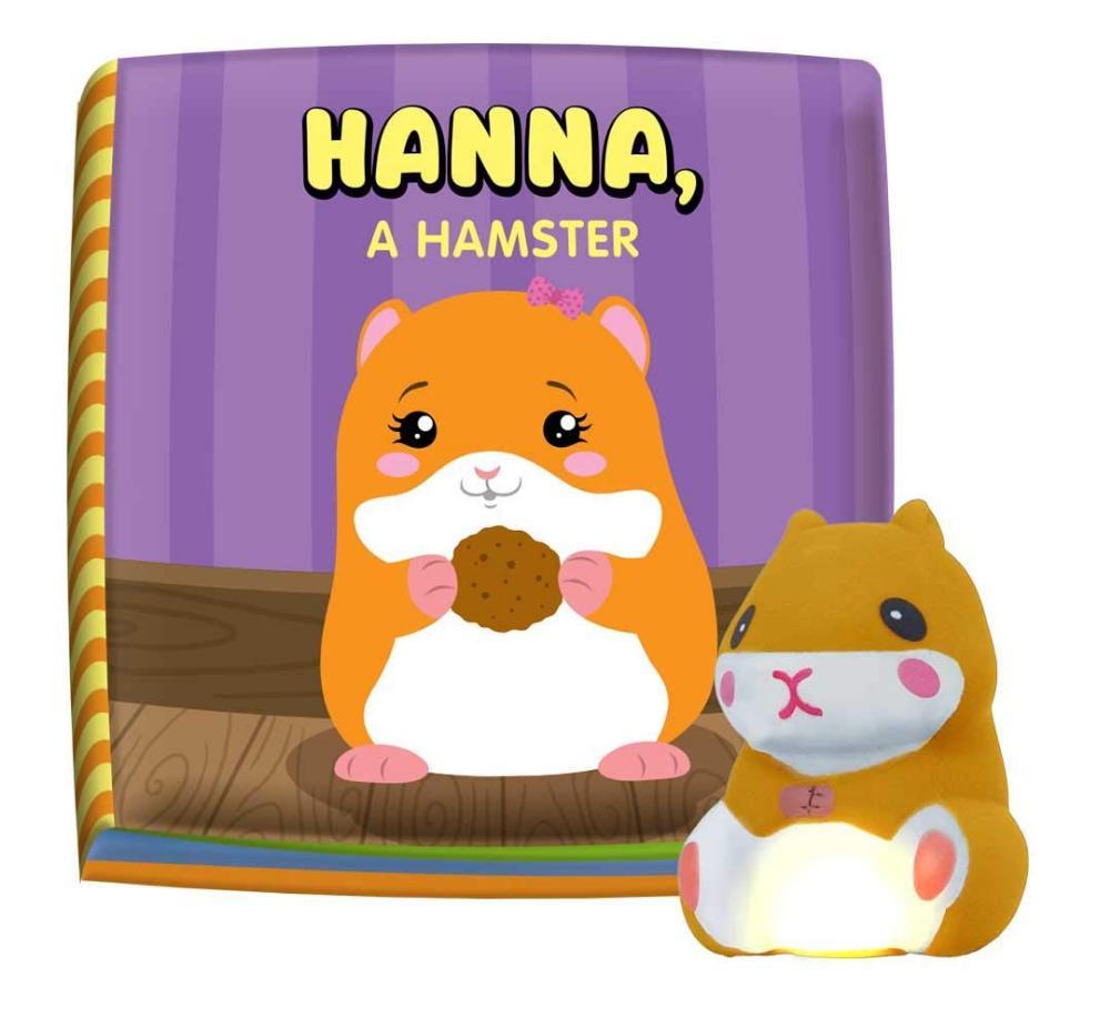 LIVRO DE BANHO HANNA A HAMSTER