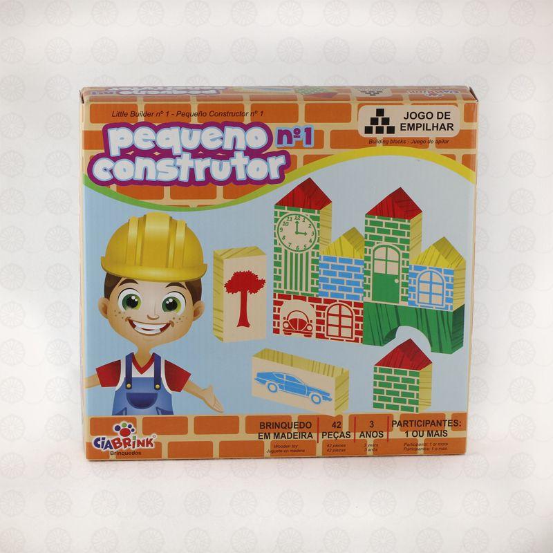 PEQUENO CONSTRUTOR 42 PEÇAS