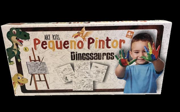 PEQUENO PINTOR DINOSSAUROS