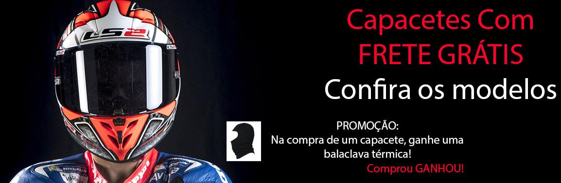 Combo Capacete + Balaclava