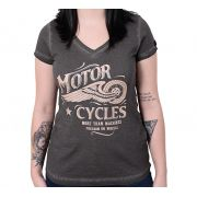 Camiseta Baby Look Kallegari Motorcycles