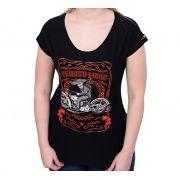 Camiseta Babylook Kallegari Spiritu Libre