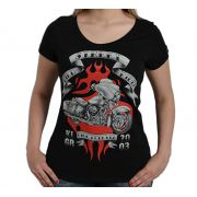 Camiseta Babylook Kallegari Street Wild Rider