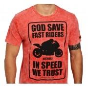 Camiseta Kallegari -  God Save Fast Rider