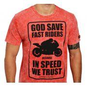 Camiseta Kallegari God Save Fast Riders