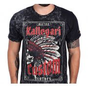 Camiseta Kallegari -  Indian Skull Estonada