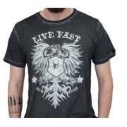 Camiseta Kallegari Live Fast