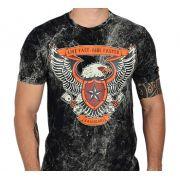 Camiseta Kallegari Live Fast Ride Faster