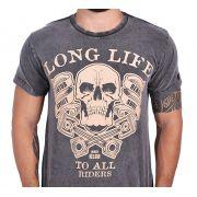 Camiseta Kallegari Long LIfe