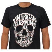 Camiseta Kallegari Word Skull