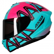 Capacete Axxis Draken Dekers Tifany Rosa