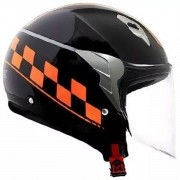 Capacete Norisk College Black / Orange
