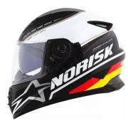 Capacete Norisk FF302 Grand Prix Germany C Oculos Interno