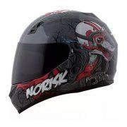 Capacete Norisk Ff391 Wolf - Cor Cinza/preto