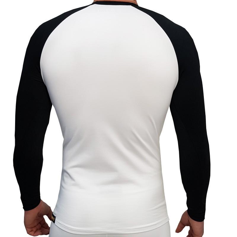 Camisa Thermohead Extreme Cold UV + 50 Branca e Preta  - Ditesta & Daihead - Moto Store