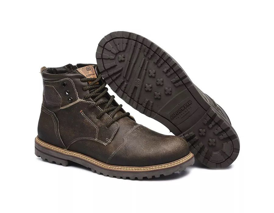 Bota Casual Dallas Stay Gray Gogo Wear  - Ditesta & Daihead - Moto Store