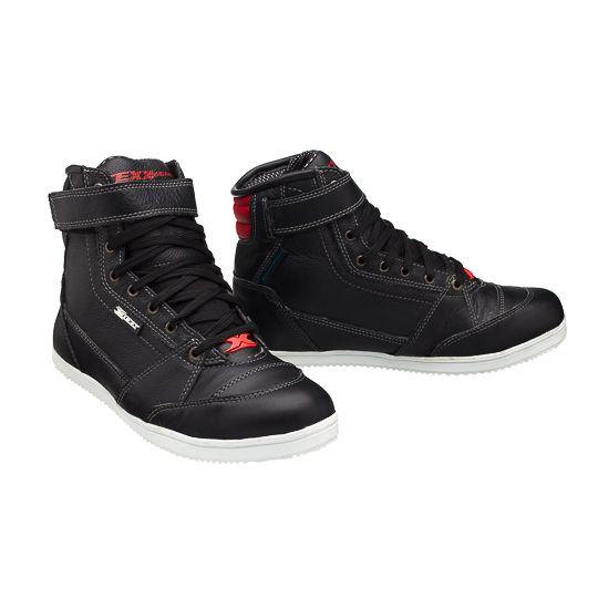 Bota / Tênis Sneaker Texx Motoqueiro em Couro Impermeável - Preto