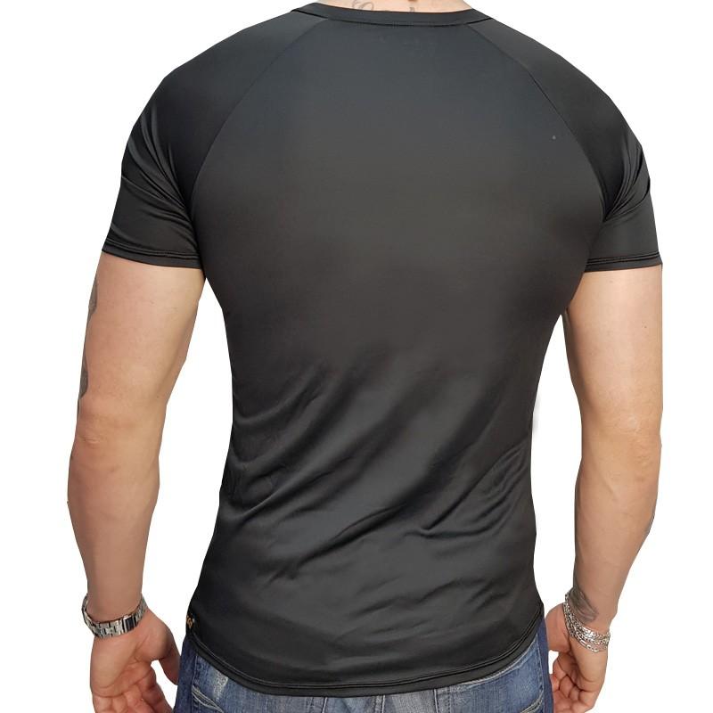 Camisa Manga Curta DryHead Preta  - Ditesta & Daihead - Moto Store