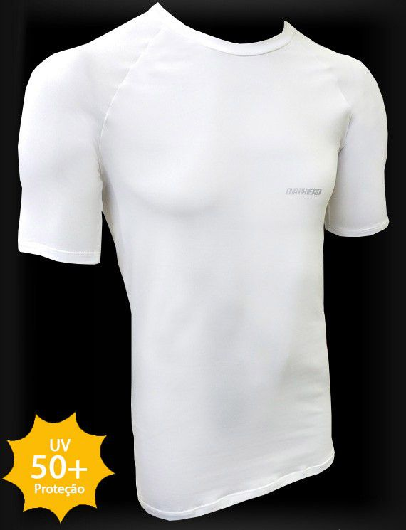 Camisa Manga Curta ThermoDry Summer UV + 50 - Branca