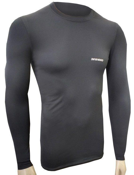 Camisa Thermohead One UV + 50 - Preto  - Ditesta & Daihead - Moto Store