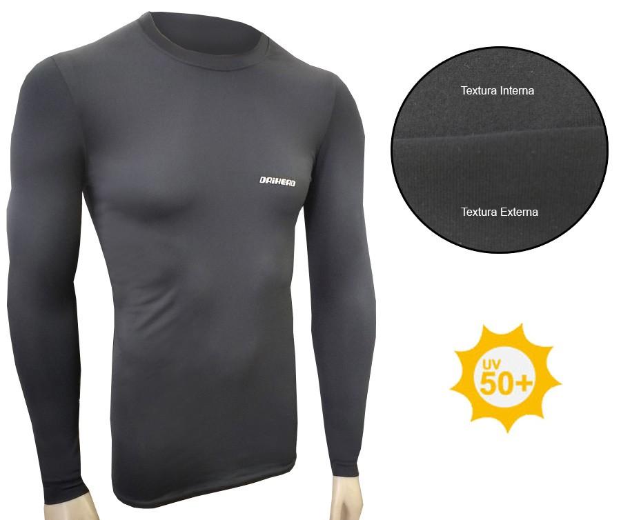 Camisa ThermoDry Summer UV + 50 - Preto  - Ditesta & Daihead - Moto Store