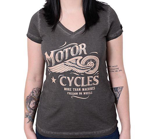 Camiseta Baby Look Kallegari Motorcycles  - Ditesta & Daihead - Moto Store