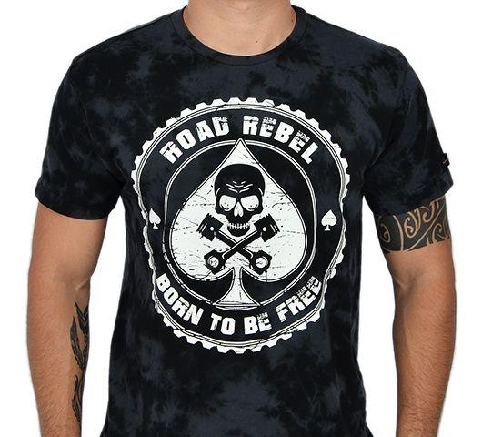 Camiseta Kallegari Ace Of Spades  - Ditesta & Daihead - Moto Store