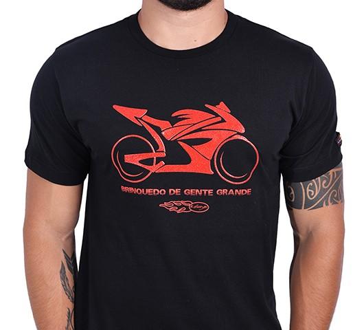 Camiseta Kallegari -  Brinquedo de Gente Grande  - Ditesta & Daihead - Moto Store