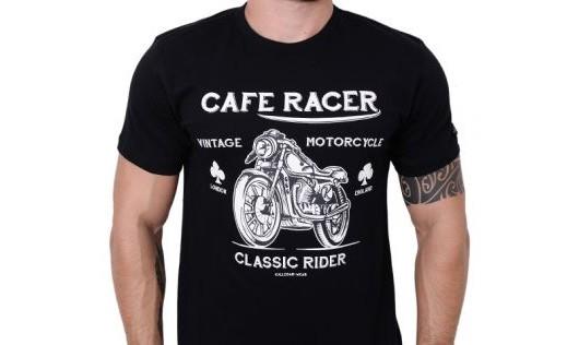 Camiseta Kallegari -  Café Racer  - Ditesta & Daihead - Moto Store