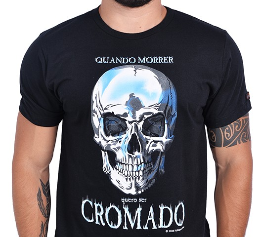 Camiseta Kallegari -  Cromado  - Ditesta & Daihead - Moto Store