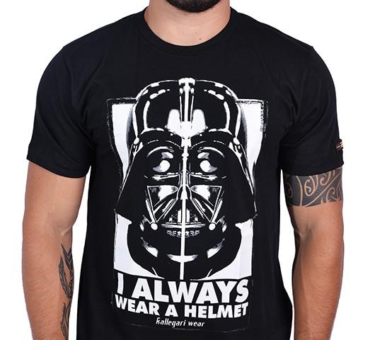 Camiseta Kallegari -  Dark Side  - Ditesta & Daihead - Moto Store