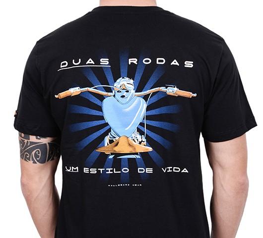 Camiseta Kallegari -  Duas Rodas  - Ditesta & Daihead - Moto Store