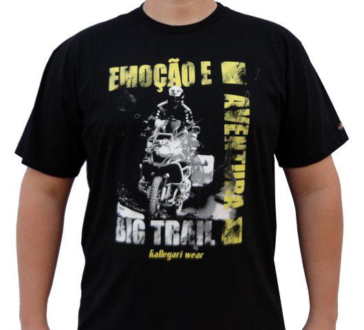 Camiseta Kallegari -  Emoção e Aventura  - Ditesta & Daihead - Moto Store