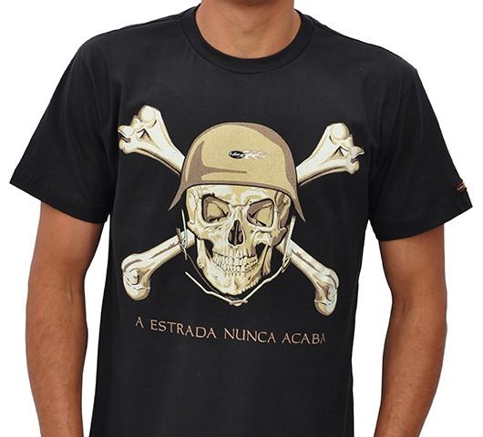 Camiseta Kallegari -  Estrada  - Ditesta & Daihead - Moto Store