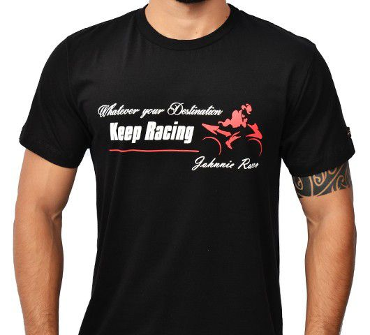 Camiseta Kallegari -  Jhonny Racer  - Ditesta & Daihead - Moto Store