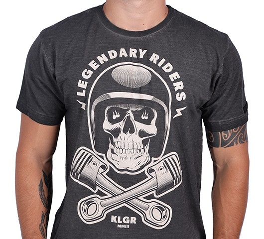 Camiseta Kallegari -  Legendary Riders  - Ditesta & Daihead - Moto Store