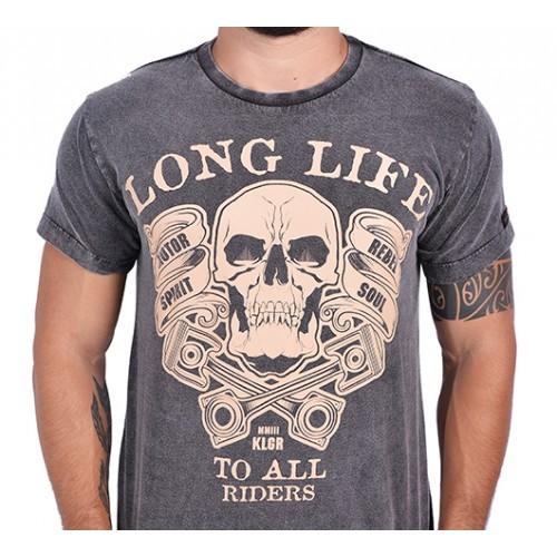 Camiseta Kallegari - Long Life  - Ditesta & Daihead - Moto Store