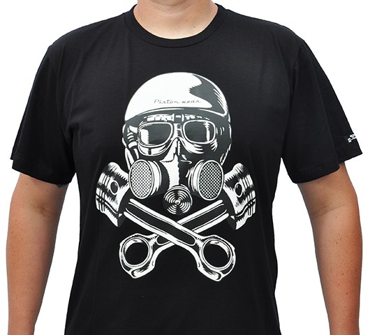 Camiseta Kallegari -  Máscara de Gás  - Ditesta & Daihead - Moto Store