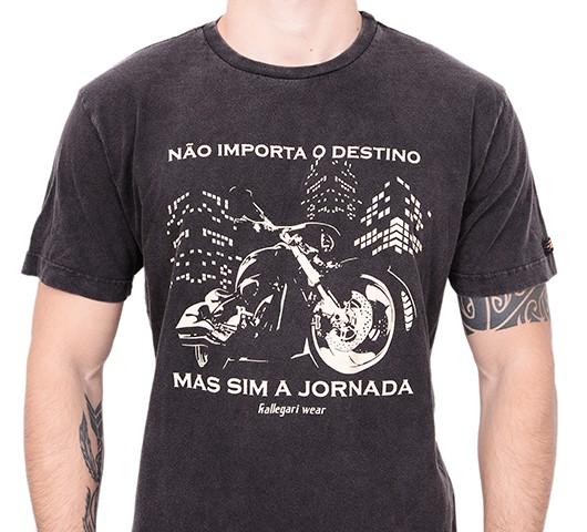 Camiseta Kallegari -  Não Importa o Destino  - Ditesta & Daihead - Moto Store
