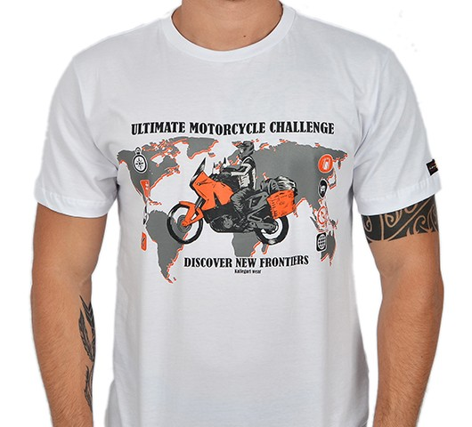 Camiseta Kallegari -  New Frontier  - Ditesta & Daihead - Moto Store
