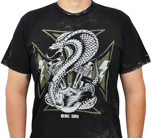 Camiseta Kallegari -  Panhead King Cobra  - Ditesta & Daihead - Moto Store