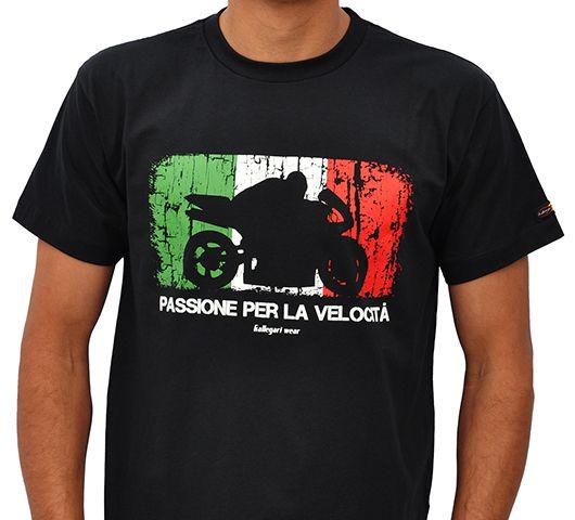 Camiseta Kallegari Passione  - Ditesta & Daihead - Moto Store