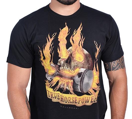 Camiseta Kallegari -  True Horse Power  - Ditesta & Daihead - Moto Store