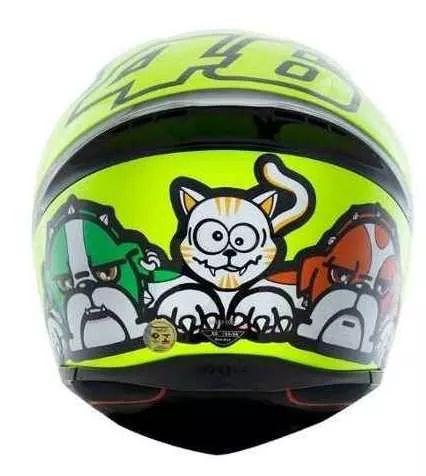 Capacete Agv K1 Mugiallo   - Ditesta & Daihead - Moto Store