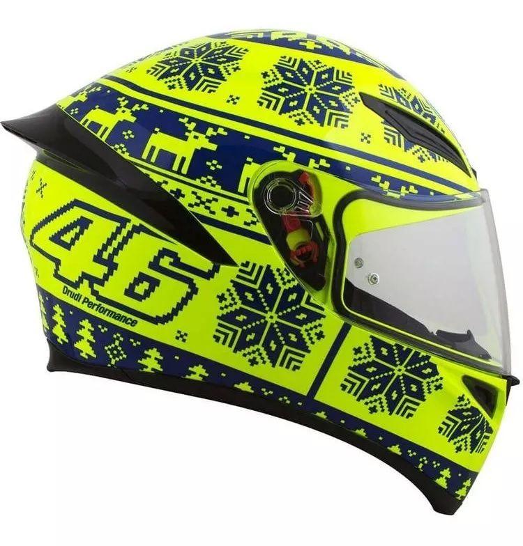 Capacete AGV K1 Winter Test  - Ditesta & Daihead - Moto Store