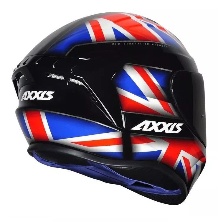 Capacete Axxis Draken UK   - Ditesta & Daihead - Moto Store