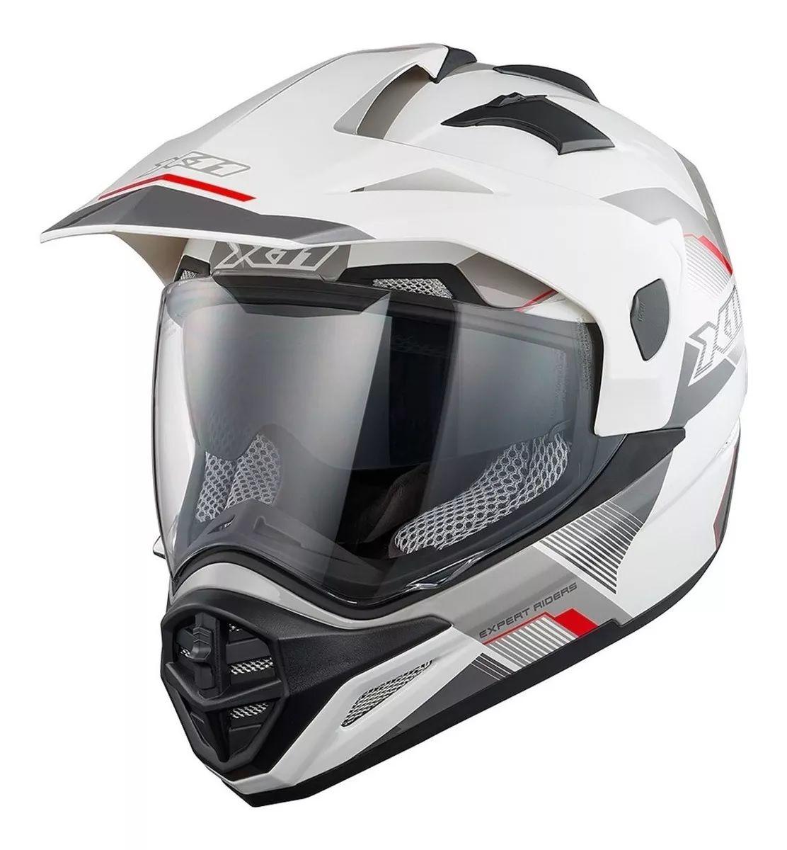 Capacete Crossover X11 X3 Oculos Interno  - Ditesta & Daihead - Moto Store